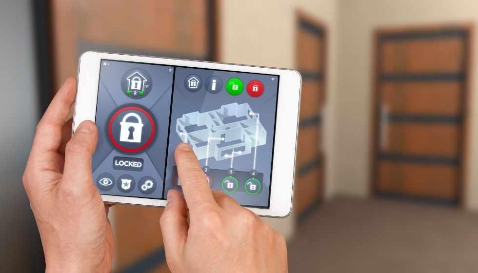 automatización del hogar en seguridad
